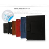China For Samsung Black Bluetooth Keyboard Case for iPad on sale