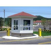 China Prebuilt Light Steel Frame Security Guard Booth on sale