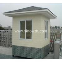 China Portable Outdoor Light Steel Security Guard Booth on sale