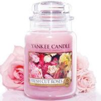 Quality Yankee Candle Housewarmer Jar (Fresh Cut Roses) for sale