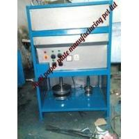Quality Semi Automatic Double Die Paper plate Making Machine for sale