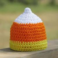 Quality Little Candy Corn Crochet Hat for sale