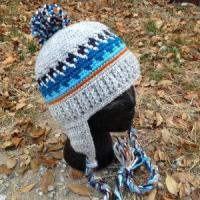 Quality CROCHET HAT PATTERN Kid's Old School Beanie for sale