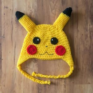 Buy Pikachu Crochet Hat, Pickachu Beanie, Milk Cotton Pokemon Hat at wholesale prices