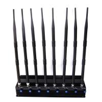 Buy cheap Adjustable 18W All 3G 4G Mobile Phone All GPS Signal Jammer from wholesalers