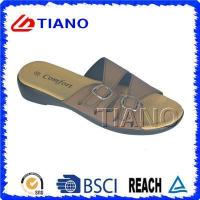 Quality Two Band Casual Comfortable Summer Outdoor Lady EVA Beach Slipper for sale