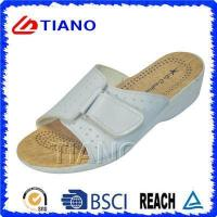 Quality Comfortable Footbed Lady EVA Beach Slipper for Casual Walking (TNK20082) for sale