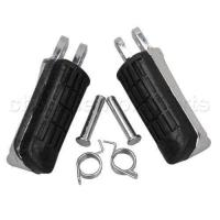 Quality Front Footrests Foot pegs For Honda CB400 VTEC CBR600 F4 F4I CB1300 CBR1100XX for sale