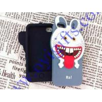 Quality 3D Monster Sharp Tooth Rabbit Silicone phone cover for sale