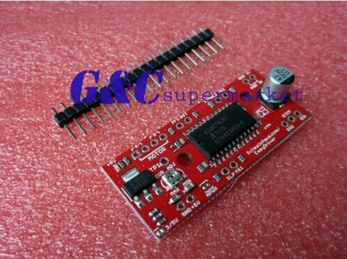 Buy 10Pcs NEW EasyDriver Shield stepping Stepper Motor Driver V44 A3967 at wholesale prices