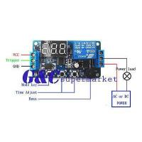 Quality 12V Programmable timer relay module Delay Timer Control Switch with LED for sale