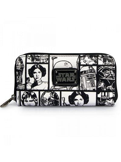 Buy STAR WARS STAR WARS COMIC PRINT WALLET BY LOUNGEFLY at wholesale prices
