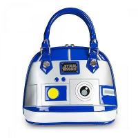 Quality STAR WARS STAR WARS R2D2 PATENT EMBOSSED BAG BY LOUNGEFLY for sale