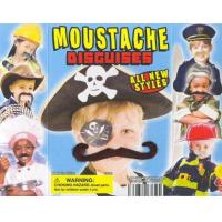 Quality Fuzzy Face Moustaches Vending Capsules for sale