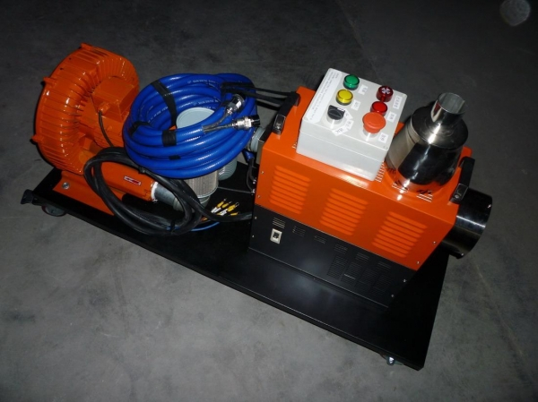 Blower Powered Air Knives : High pressure hot air blower for sale