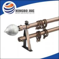 China New Design Curtain Pole Finial For Curtain Pole on sale