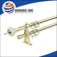 Buy cheap Fancy Window Curtain Tube With Resin Finial from wholesalers