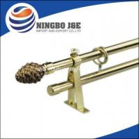 China Window Curtain Pole With Glass Curtain Pole Finial on sale