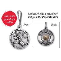 Quality St. Francis of Assisi Medal Blessing for Dogs for sale