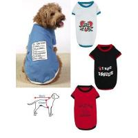 Quality Funny Dog T-Shirts - Set of 4 for sale