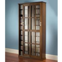 Quality TV & Video The Sliding Door 665 CD/300 DVD Library. for sale