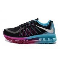 Quality Air Max 2015 Women Blue Black Purple Basketball Sneakers for sale