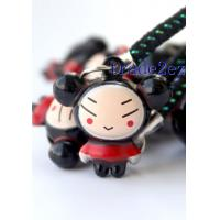 Quality 2016622145116Cartoon Pucca Bell Charm Strap 3-Style for sale