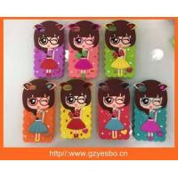 Quality 2015 new Style Soft 3D Silicone Xiaoxi Cartoon Cute Little Girl Case Cover For Apple iPhone 6 for sale