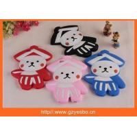 Quality New Cute little cartoon people 3D silicon cover case for iphone 4 5 6 6+ for sale