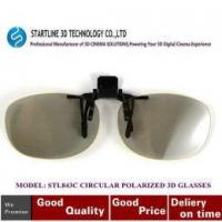 China CLIP-ON 3D Circular Polarized Glasses -in 3D Movies on sale