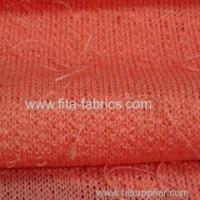 Quality Loose knitting plush fabric for sale