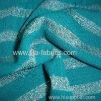 Quality Acrylic bright silk striped Jersey for sale