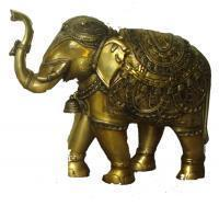 Buy cheap Decorative Elephant Statue in BrassItem Code from wholesalers