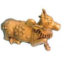 Buy cheap Decorative Bull Statue of BrassItem Code from wholesalers