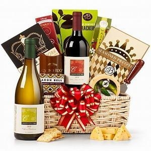 Buy The Royal Treatment Wine Gift Basket NO.49 deliver gift to shang at wholesale prices