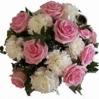 Quality Rose and Carnations Bouquet NO.34 shanghai flower delivery for sale