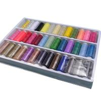 Quality 39colours Spun Polyester Sewing Thread Kit for sale