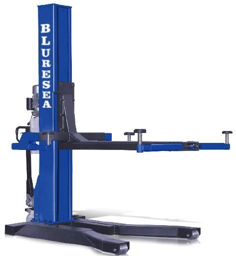 Hydraulic Lift Functions : Car lift movable single post hydraulic for sale