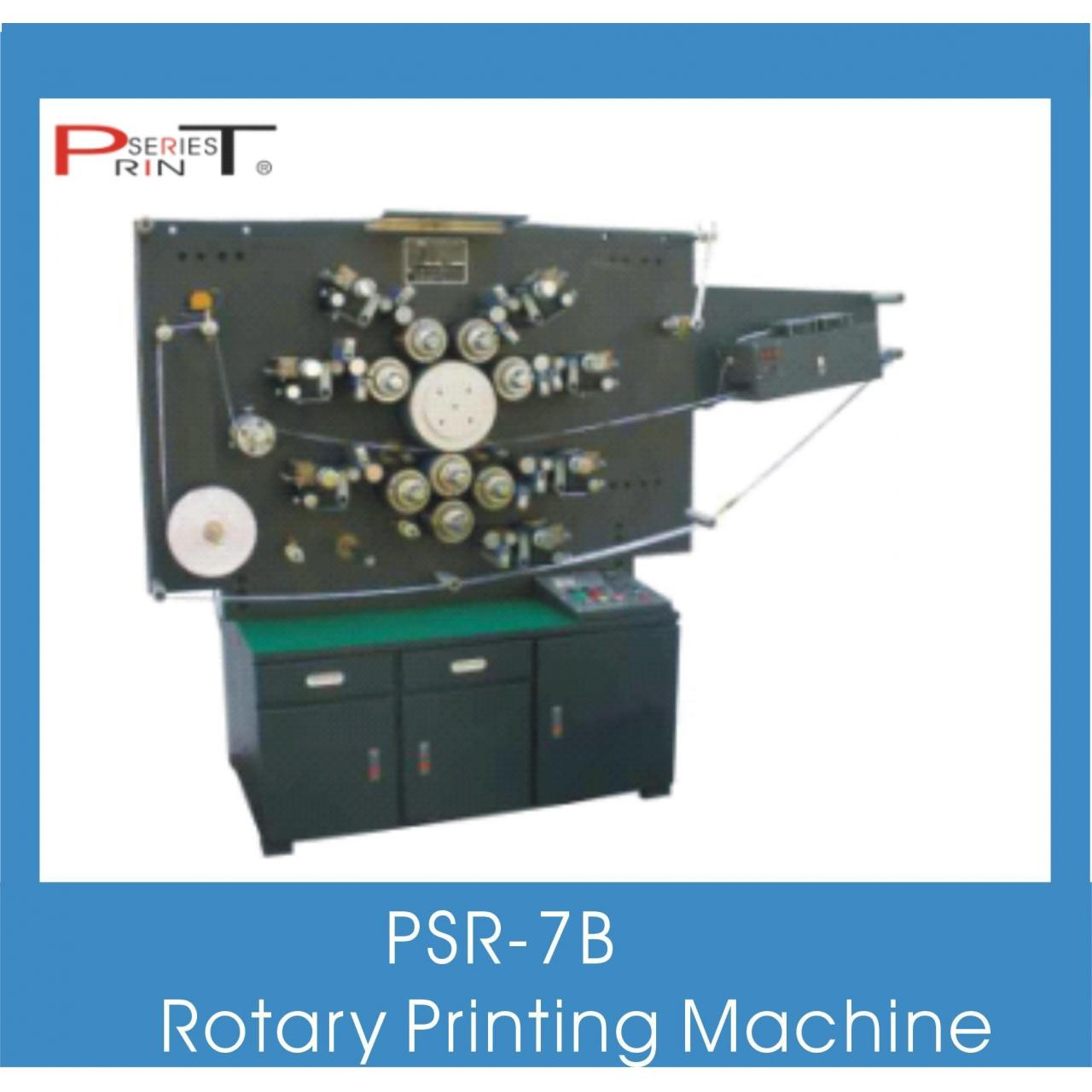 Quality 7 Color Rotary Printing Machine for sale