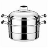 Buy cheap European style Stainless steel double food steamer pot from Wholesalers