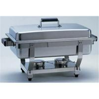 Buy cheap 9QT Stainless hotel buffet chaffer dish fuel/chaffing dish from Wholesalers
