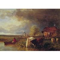 Quality Oil Painting Approaching_Storm for sale