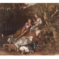 Quality Oil Painting shepherx for sale