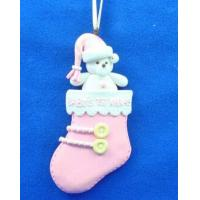 Quality Polymer clay Christmas Ornament Holiday Gift for sale