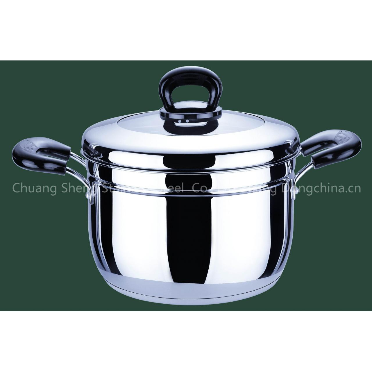 Buy cheap stainless steel steamer pot from Wholesalers