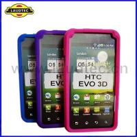 China Slicone Case for HTC EVO 3D on sale