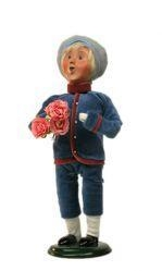 China Byers' Choice - Mother's Day Boy- SIGNED by Joyce Byers