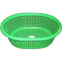 "Quality 2395 - PLASTIC BREAD BASKET 3 ASST COLORS (13""X10"" L x W 3 ASST COLORS) for sale"