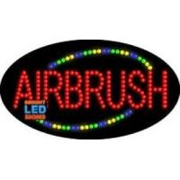 Quality Airbrush Flashing LED Sign for sale