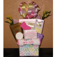 Buy cheap A Sweet Baby Girl Gift Basket from wholesalers